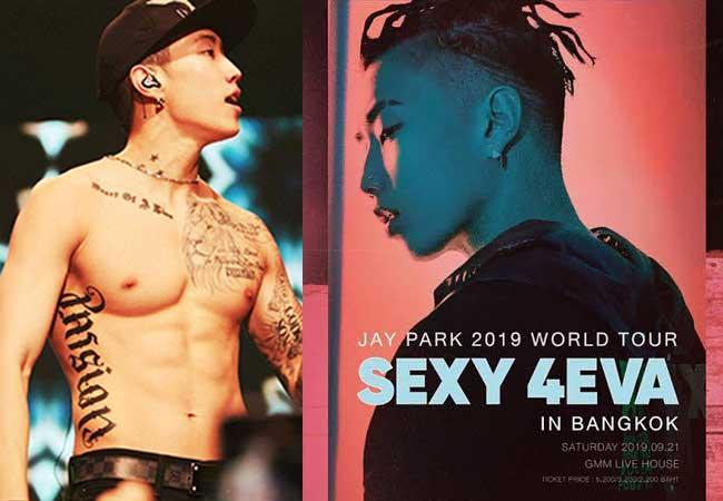 JAY PARK 2019 WORLD TOUR SEXY 4EVA IN BANGKOK