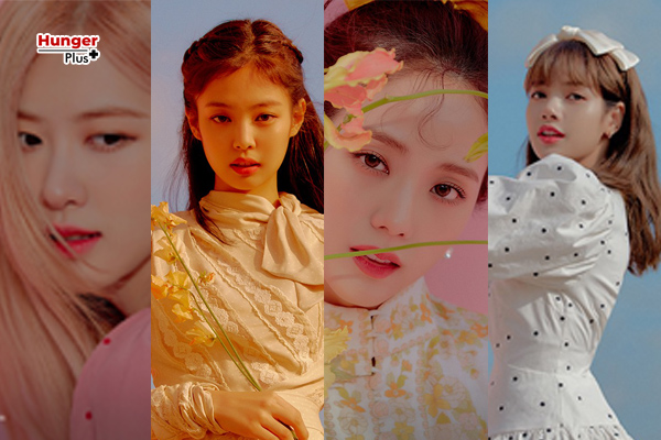 4 สาววง Blackpink กับดอกไม้ ในโฟโต้บุ๊ค '2020 Welcoming Collection'
