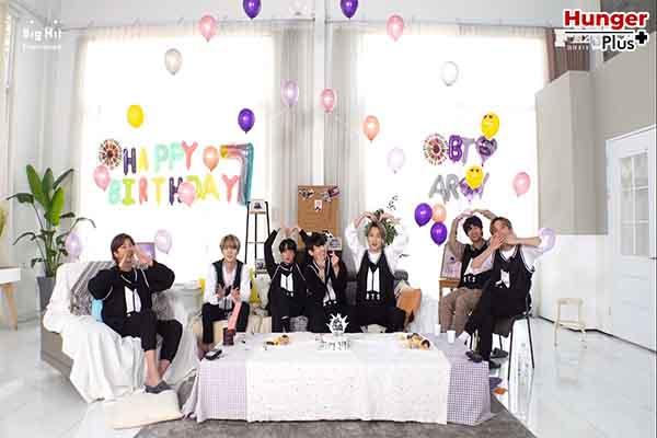 หนุ่ม ๆ BTS ฉลองครบรอบเดบิวต์ 7 ปี แฟน ๆ ถล่มติดเทรนด์ทวิตโลก