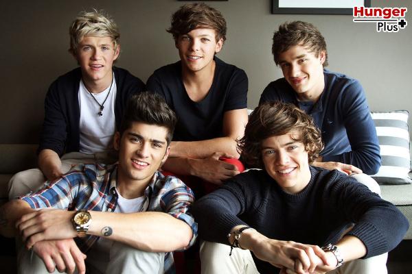 กระแสของ One Direction พุ่งขึ้น 174 เปอร์เซ็นต์