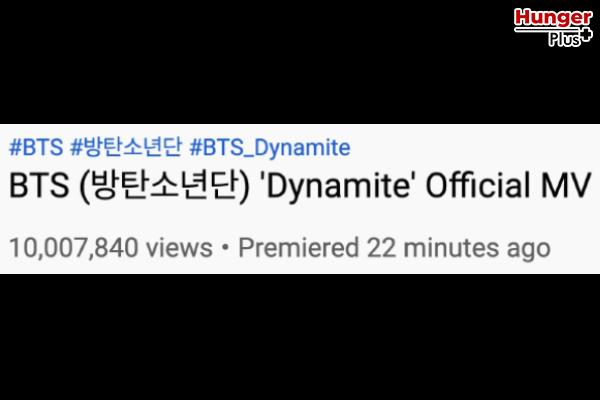 'Dynamite' ซิงเกิ้ลใหม่ของ BTS ที่แฟน ๆ การันตีว่าจะขึ้นสู่ 100 ล้านวิวในเวลาไม่เกิน 1 วันแน่นอน! ข่าวดารา ข่าวบันเทิง ข่าวออนไลน์ Dynamite BTS