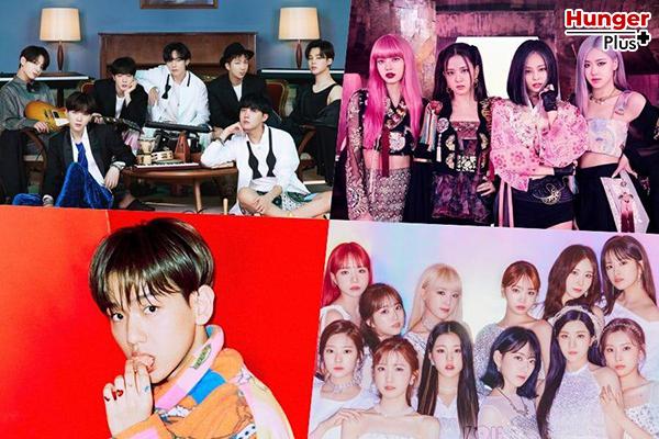 Melon Music Awards 2020 ประกาศรายชื่อศิลปิน 10 อันดับแรกและรายชื่อศิลปินยอดนิยม 30 อันดับของเดือนพฤศจิกายนจาก The Korean Business Research Institute