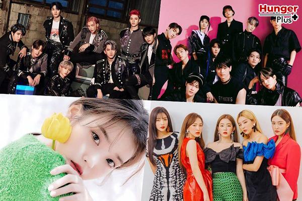 Stray Kids, The Boyz, TXT, IU, Red Velvet, MAMAMOO และอีกมากมาย Certified Platinum โดย Gaon ข่าวดารา ข่าวบันเทิง ข่าวออนไลน์ ข่าวฟุตบอล ศิลปินKpop CertifiedPlatinum GaonChart