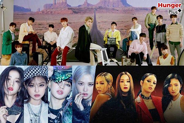 NCT, BLACKPINK, BTS, SuperM, LOONA และศิลปิน K-POP  อีกหลายวงทีขึ้นไปอยู่บนชาร์ตเพลงระดับโลกอย่าง Billboard's World Albums Chart ได้