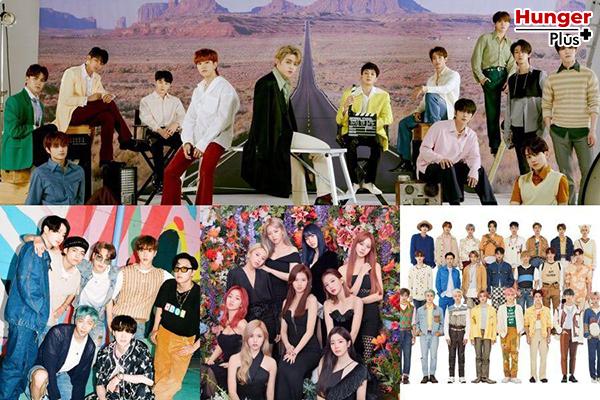 """SEVENTEEN กวาด 4 อันดับแรกบนชาร์ตยอดขายเพลงเคป๊อป HMV """"Best Of 2020"""" ของญี่ปุ่น"""