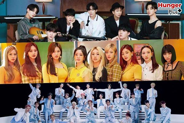 BTS TWICE NCT และ BLACKPINK อยู่ในรายชื่ออันดับนักร้องที่มีชื่อเสียงมากที่สุดประจำเดือนพฤศจิกายน