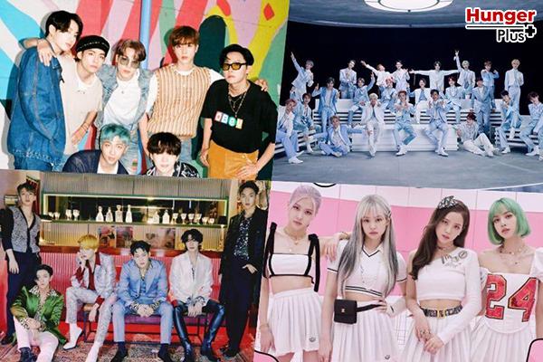 BTS, NCT, MONSTA X, BLACKPINK และชาร์ต Gaon ยอดนิยมประจำเดือนและรายสัปดาห์อีกมากมาย
