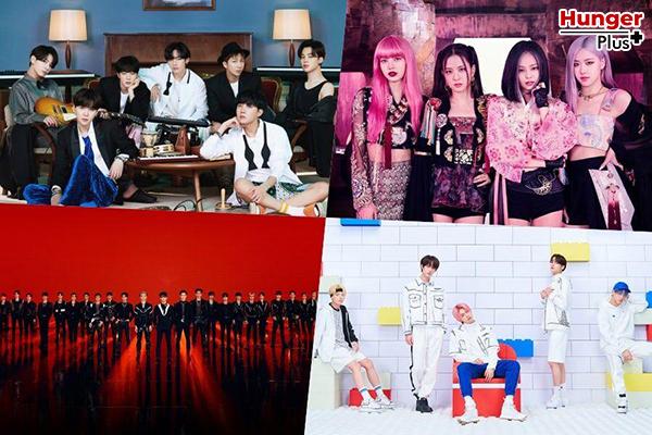 BTS, BLACKPINK, NCT, TXT, SuperM และศิลปินอีกมากมายที่ยกวาดความนิยมในชาร์ตอัลบั้มโลกของ Billboard