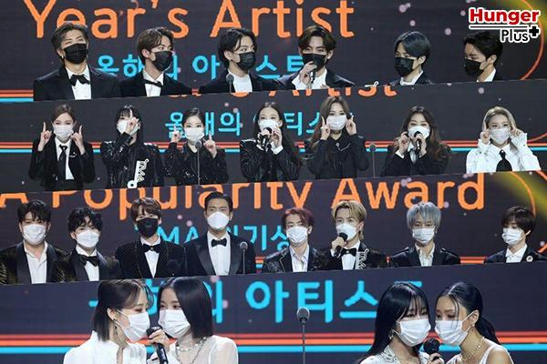 รวมรายชื่อศิลปิน K-POP ที่ได้รับรางวัล The Fact Music Awards ประจำปี 2020