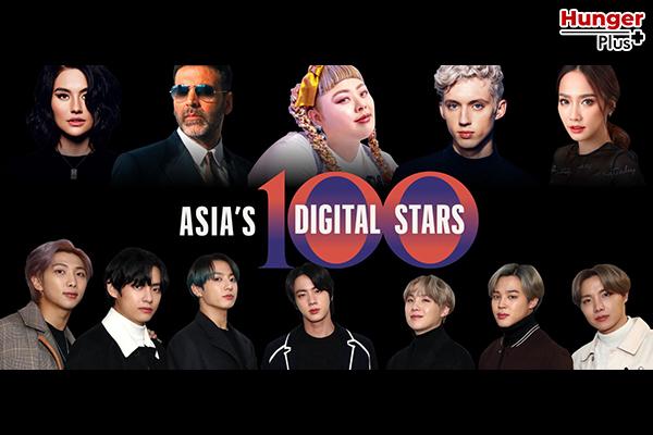 รายชื่อศิลปิน K-POP ที่มีอิทธิพลต่อโลกดิจิตัลปี 2020 จากลิสต์ 'Forbes Asia's 100 Digital Stars'