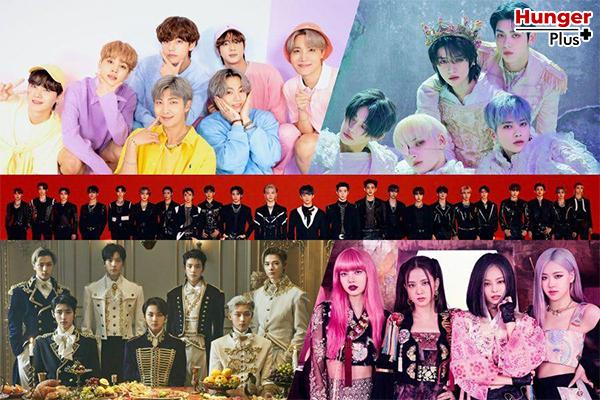 BTS, TXT, ENHYPEN, BLACKPINK, NCT และ ITZY กวาดอันดับสูงสุดบนชาร์ต World Albums ของ Billboard