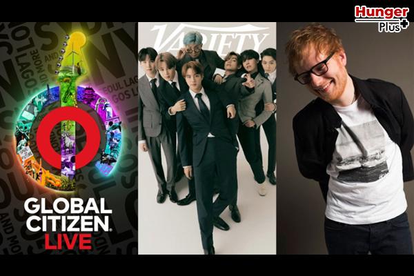 "BTS จะแสดงในกิจกรรมพิเศษตลอด 24 ชั่วโมงทั่วโลกใน ""Global Citizen Live"" ข่าวดารา ข่าวบันเทิง ข่าวออนไลน์ ข่าวฟุตบอล K-Pop BTS GlobalCitizenLive"