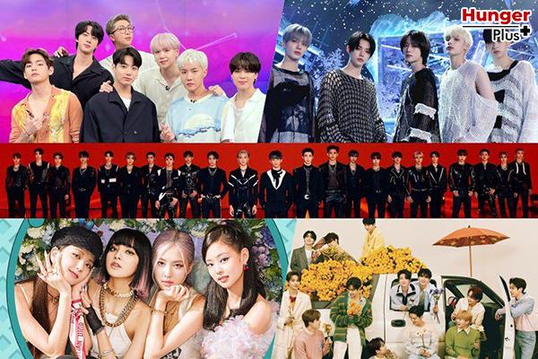 BTS ได้รับการเสนอชื่อเข้าชิง 5 รางวัลในงาน MTV VMA ปี 2021 BLACKPINK, TWICE, SEVENTEEN, (G)I-DLE และ MONSTA X อุปสรรค์สำหรับ K-Pop ที่ดีที่สุด ข่าวดารา ข่าวบันเทิง ข่าวออนไลน์ ข่าวฟุตบอล K-Pop BTS KPopที่ดีที่สุด