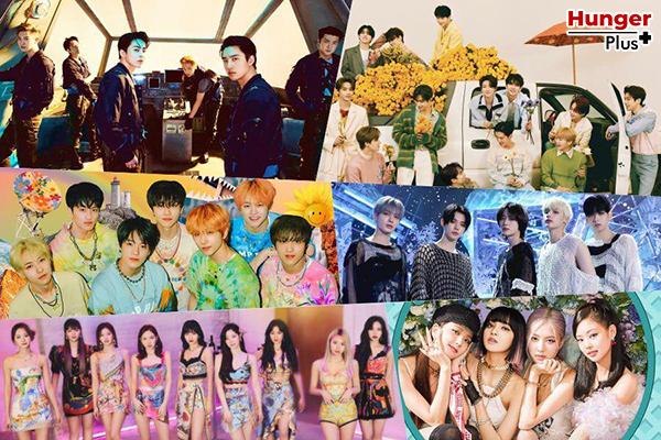 BTS ได้รับการเสนอชื่อเข้าชิง 5 รางวัลในงาน MTV VMA ปี 2021  BLACKPINK, TWICE, SEVENTEEN, (G)I-DLE และ MONSTA X อุปสรรค์สำหรับ K-Pop ที่ดีที่สุด