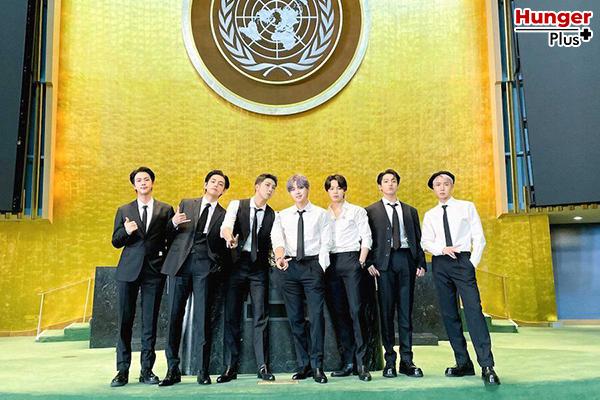 BTS แบ่งปันข้อความแห่งความหวังสำหรับคนรุ่นใหม่ในเวทีการประชุมของสหประชาชาติ ข่าวดารา ข่าวบันเทิง ข่าวออนไลน์ ข่าวฟุตบอล K-Pop BTS การประชุมของสหประชาชาติ