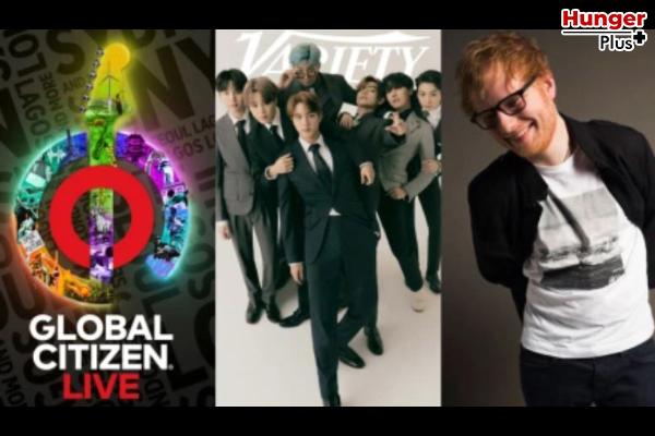 BTS, Ed Sheeran, The Weeknd, Lorde, Doja Cat และดาราอีกมากมาย บน Global Citizen Live กับช่วงเวลาพิเศษตลอด 24 ชั่วโมง